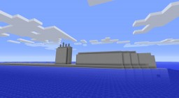 USS Growler SSG 577 (Real submarine) full interior and download Minecraft Map & Project