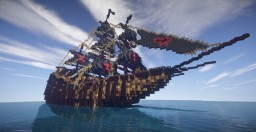 Barbarian warship Minecraft Map & Project
