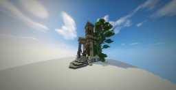 An epic giant house with Fantasy theme from a builder from my team /by daliborkoo Minecraft Project