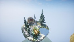 Winter SkyWars Spawn Minecraft Map & Project