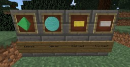 3D gems and ingots Minecraft Texture Pack