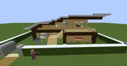 Mansion That needs MrCrayfish Furniture Mod and Placeable Items Mod Minecraft Project