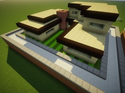 sandstone house mcedit Minecraft Project
