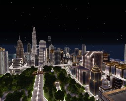 Paradise City Minecraft Map & Project