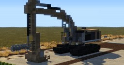 CAT 390FL Excavator Minecraft Map & Project