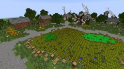 Small Medival Village Minecraft Map & Project