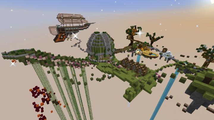 SkyBlock Lobby!