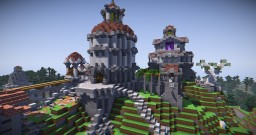 The Royal Hills. Minecraft Project
