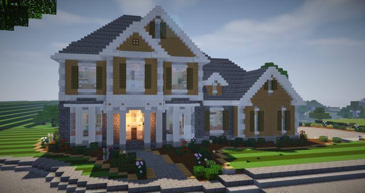 suburban house 2 minecraft project