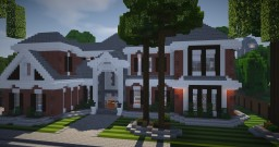 Brick Mansion 9 Minecraft Map & Project
