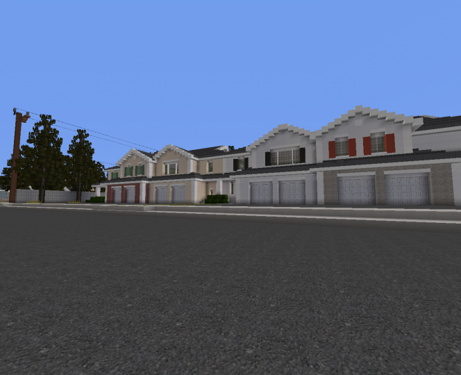 Townhouses in Windmere.