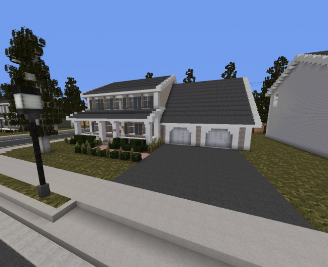 One of the more higher middle class suburban houses in Windmere.