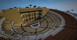 Roman theatre (inspired by Orange, France) Minecraft