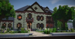 Large Mansion 4 Minecraft Map & Project