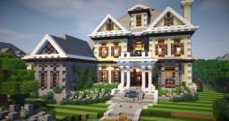 Large Mansion 5 Minecraft Project