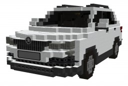 SKODA KAROQ Ambition 1.5 TSI 110kW (2017) Minecraft Project