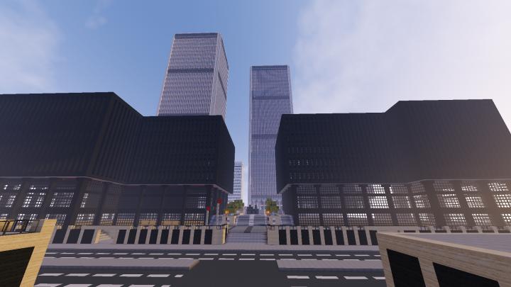World Trade Center Outside