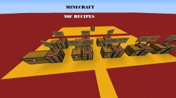 MO RECIPES DATA PACK WORLD Minecraft Project