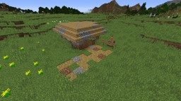Redstone House #9 Redstone Dirt Hut Minecraft Project