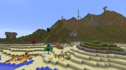 Zombie Island: Zombie Survival Map Minecraft Map & Project