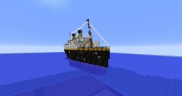 SS Teriada 1:1 scale Minecraft Map & Project