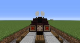 Concept train Minecraft Map & Project