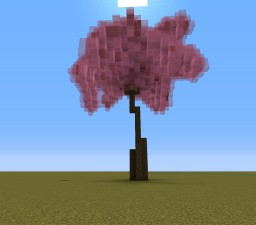 Cherry Blossom Tree Minecraft Map & Project