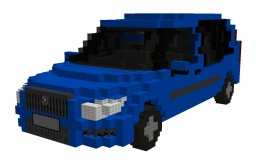 SKODA ROOMSTER 1.4 63kW (2006) Minecraft Project