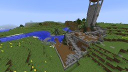 Mid-evil Trading City Minecraft Project