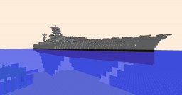 Another fictional battleship Minecraft Project