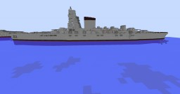 Fictional Battlecruiser Minecraft