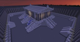 Greek Temple (W.I.P) Minecraft Map & Project
