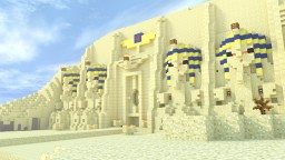 Abu Simbel Temple Minecraft Map & Project