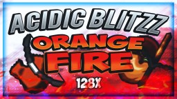 2018 AciDic BliTzz Orange Fire PvP Pack Revamp Release ! (128x128) Minecraft Texture Pack