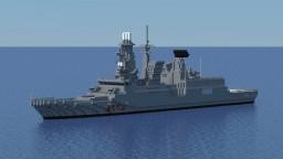 Andrea Doria (D553) 1:1 scale Minecraft Project