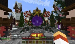 Hypixel 2017 Christmas Lobby (hub) Minecraft Project