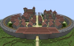 City and Kaer Morhen Minecraft Map & Project
