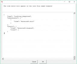 1.13 Custom Crafting Generator Minecraft Project