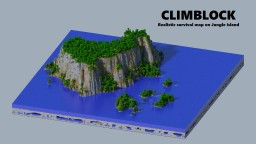 - Climblock - A little adventure on lost island Minecraft Map & Project