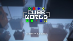 Cube World world generator [1.12.X] [Forge] Minecraft