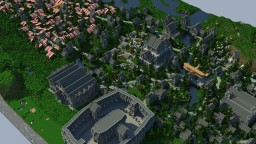 Gothic Town in Remote Areas | Faction Spawn | Arcenia Minecraft Project