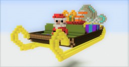 Hypersonic Santa's Sleigh Minecraft Map & Project