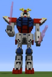 GAT-X105B Build Strike Gundam Minecraft Map & Project