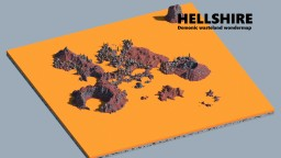 - Hellshire - A profesional hellish landscape Minecraft Map & Project