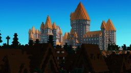 Hogwarts from Hogsmeade Minecraft Project