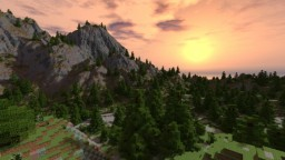 Roughew Rocks with buildings, and other minor improvements Minecraft Project