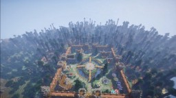 THE BUILDERS HORIZON MEDIEVAL FACTIONS SPAWN, Custom Trees, Custom Built Spawn For Servers, Survivals, Factions and More! Minecraft