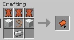 Craft horse armor!