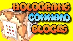 Command Block Holograms Tutorial Bedrock Edition Minecraft Map & Project
