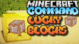 Lucky Block Command Bedrock Edition Minecraft Map & Project